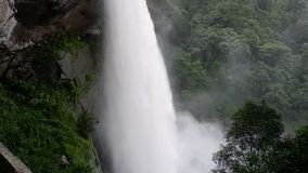 Waterfall large stock video footage