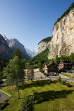 Waterfall at Lauterbrunnen Royalty Free Stock Photo