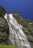 Waterfall. In Lauterbrunnen Valley in the Bernese Oberland, Switzerland Royalty Free Stock Photos