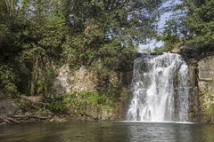 Waterfall in Lazio Stock Images