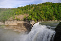 Waterfall in Letchworth State Park Stock Photos