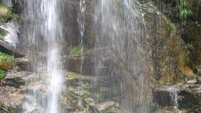 Waterfall like a curtain Stock Photo