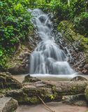 Waterfall like a painting royalty free stock image