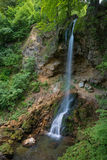 Waterfall in Lillafured park Royalty Free Stock Images