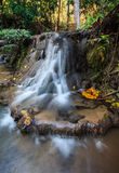 Waterfall. Limestone waterfall in Northern Thailand Stock Photography