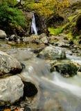 Waterfall of Lingcove Bridge Stock Photos