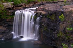 Waterfall. Little River Falls in north eastern Alabama Royalty Free Stock Photography