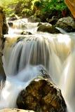 Waterfall located in Europe Stock Photo