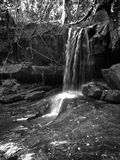 Waterfall. Located in Kbal spean in Phnom kulen mountain stock photography