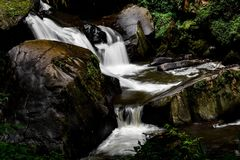 Coban Talun Waterfall, Malang, East Java, Indonesia Royalty Free Stock Images