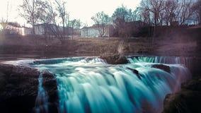 Waterfall long exposure