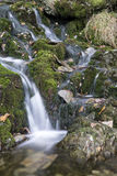 Waterfall long exposure landscape image in Summer in forest sett Stock Photography