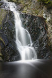 Waterfall Long Exposure Shot Royalty Free Stock Photography