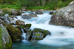 Waterfall at long shutter speed Royalty Free Stock Photo