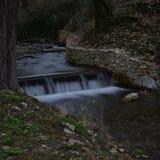 Waterfall. Longexpo stone and water Stock Image