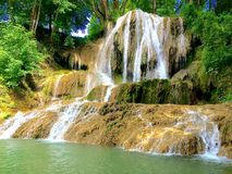 Waterfall , Lucky , Slovakia. Nature , Travel , Waterfall , Walk , Relax Royalty Free Stock Photos