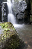 Waterfall in the Lumsdale valley, England Royalty Free Stock Photos