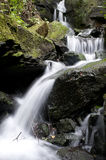 Waterfall in the Lumsdale valley, England Stock Photography