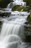 Waterfall in the Lumsdale valley, England Royalty Free Stock Image