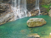 Waterfall in lushan mountains Royalty Free Stock Image