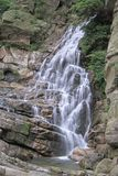 Waterfall in Lushan national park Stock Photo