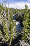 Waterfall in Madison River Royalty Free Stock Image
