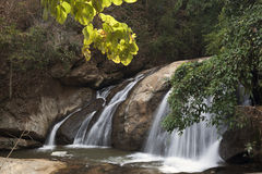 Waterfall in Mae Sa Valley Royalty Free Stock Image