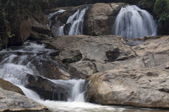 Waterfall in the Mae Sa Valley Royalty Free Stock Images