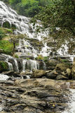 Waterfall Mae Ya in the forest of  Thailand Stock Image