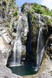 The waterfall of Maggia Stock Photography
