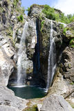 The waterfall of Maggia Stock Image