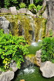 Waterfall in Malacca Botanic Garden Royalty Free Stock Image