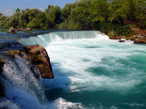 Waterfall Manavgat Royalty Free Stock Images