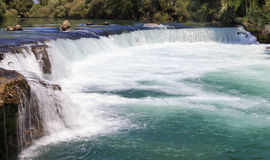 Waterfall in Manavgat Stock Image