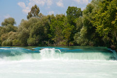 Waterfall on Manavgat River, Turkey Stock Photo