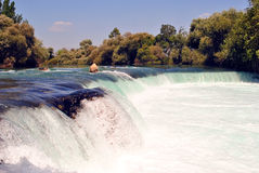 Waterfall in manavgat turkey Stock Photos
