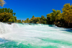 Waterfall Manavgat at Turkey Royalty Free Stock Image