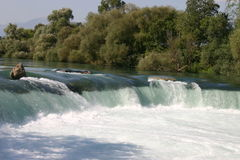 Waterfall Manavgat Stock Image