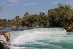 Waterfall of Manavgat Stock Photography