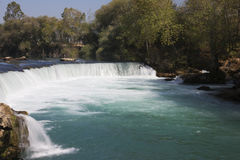 Waterfall in Manavgat Stock Images