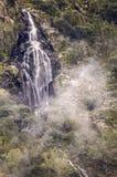 Waterfall Manto de la Virgen. Stock Photography