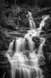 Waterfall with many cascades Stock Photography