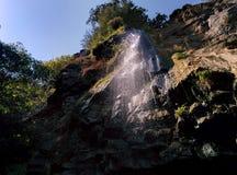Waterfall in Masalli. Stock Image