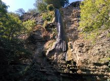 Waterfall in Masalli. Royalty Free Stock Photography