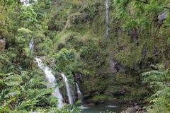 Waterfall. Maui island, very good for any kind of manipulation Stock Photo