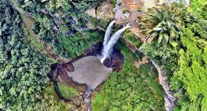 Waterfall on Mauritius Stock Images