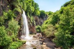 Waterfall Medovyi, Karachay Cherkessia, Russian Federation Royalty Free Stock Photography