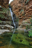 Waterfall in Meiringspoort Pass Royalty Free Stock Photography