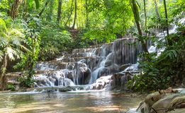 Waterfall in Mexico Royalty Free Stock Images