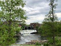 Middlebury Vermont Waterfall stock photos